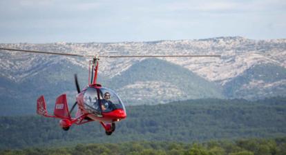 Survol du Var en ULM autogire au départ du Castellet
