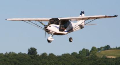 Survol de la côte d'azur en avion léger près d'Aubagne