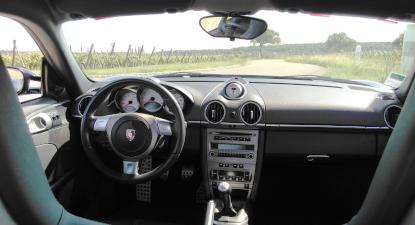 Pilotage sur Route d'une Porsche Cayman S en Centre Alsace