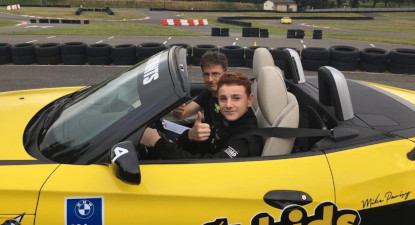 Stage de pilotage pour enfant (Porsche, BMW, MINI..) à Trappes