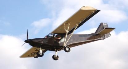 Vol en avion ultra léger du Berry Saint-Amandois aux confins de l'Auvergne