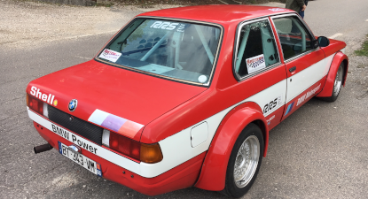 stage de pilotage rallye vhc sur bmw e21 pr s d 39 avignon. Black Bedroom Furniture Sets. Home Design Ideas