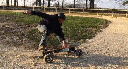 VTT, trottinette et skateboard électriques tout terrain