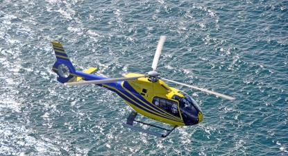 Vol en Hélicoptère - Survol de Quimper et la baie de Douarnez