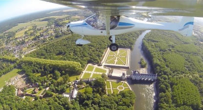 Initiation au pilotage d'avion ultra léger à Blois