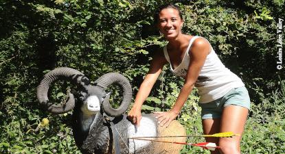 Initiation et Tir à l'arc sur cibles animalières en mousse près de Blois