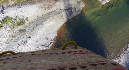 Baptême en Montgolfière au dessus d'Annecy