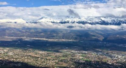 Baptême en ULM - Vol au dessus de Grenoble et la Vallée Grésivaudan