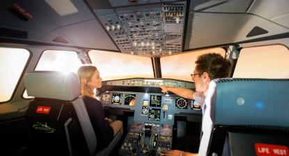 Simulateur de vol en Airbus A320 à Aix en Provence