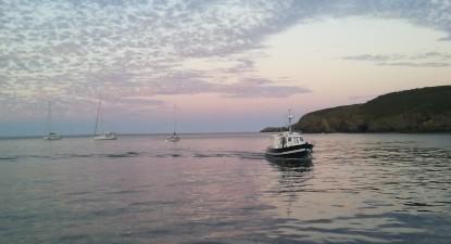 Pêche au gros et requins près de Quiberon