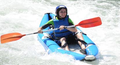 Séjour sportif eaux vives et canyon en Hautes-Pyrénées près de Lourdes