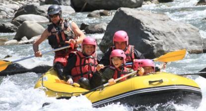 Descente en Rafting à Itxassou dans le pays basque