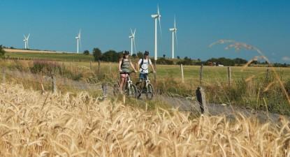 Balade en trottinette électrique tout terrain à Saint-Flour dans le Cantal