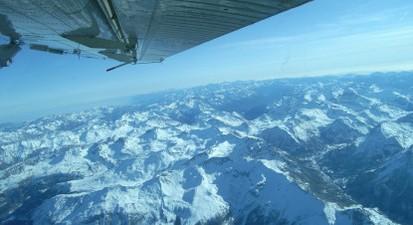 Saut en Parachute Tandem à Barcelonnette dans les Alpes