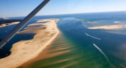 Baptême de l'air en ULM - Survol du bassin d'Arcachon et la dune du Pilat