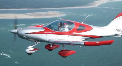 Initiation au pilotage d'avion léger à Arcachon en gironde