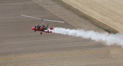Initiation au pilotage d'ULM à Prunay près de Reims