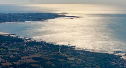 Baptême en ULM près de Nantes - Vol au dessus des côtes de Jade