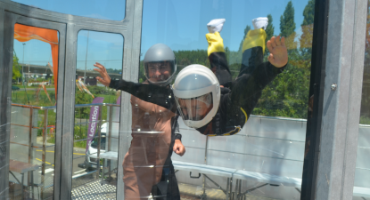 Simulateur de chute libre en soufflerie Indoor à Bayonne