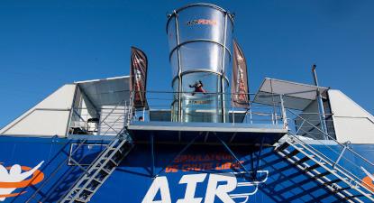 Simulateur de chute libre à Bayonne