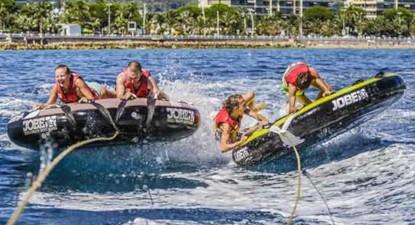 Activité nautique (bouées, flyfish ou canapé) à Sainte Maxime