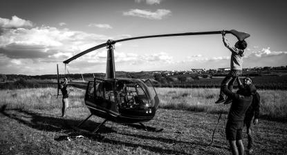 Baptême en Hélicoptère dans la Loire - Vol en hélicoptère à Roanne