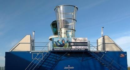 Simulateur de chute libre en soufflerie Indoor au Havre