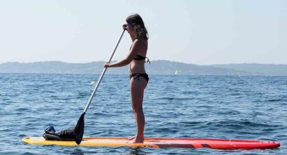 Location de Kayak, Paddle ou pédalo sur plage de la Gaillarde à Issambres