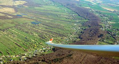 Baptême de l'air en planeur - Vol depuis Rouen jusqu'au Mont Saint Michel