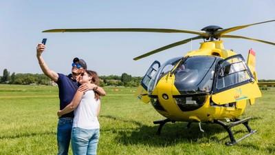 Vol VIP en Hélicoptère depuis Paris vers l'abbaye des Vaux de Cernay