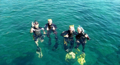 Baptême de plongée à Ajaccio