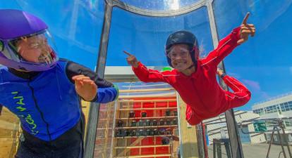 Simulateur de chute libre à Créteil