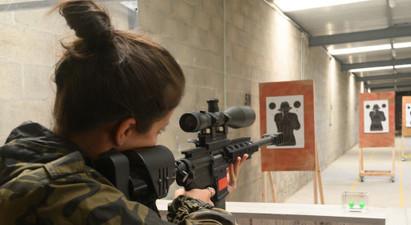 Tir au fusil paintball MCS type Magfeed près de Paris