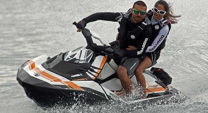 Randonnée en Jet Ski sur le Rhône près de Lyon