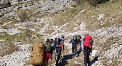 Stage de Survie et Raid en Montagne dans le Vercors