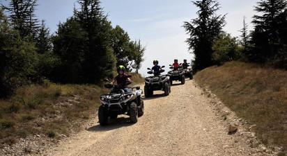 Randonnée en Quad près de Montélimar à la Découverte de la Drôme