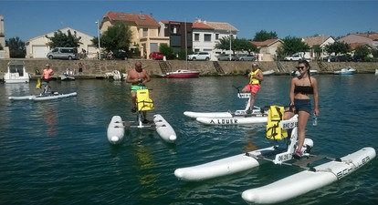 Randonnée en Vélo Aquatique au Cap d'Agde