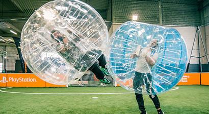 Partie de bubble bump à Dax