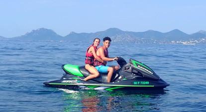 Randonnée en Jet Ski au Cros de Cagnes, entre Nice et Antibes