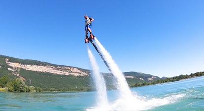 Initiation au Flyboard sur le Rhône près de Lyon