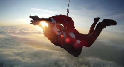Saut en Parachute Tandem à Auxerre