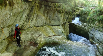 Canyoning Découverte & Plaisir près d'Annecy