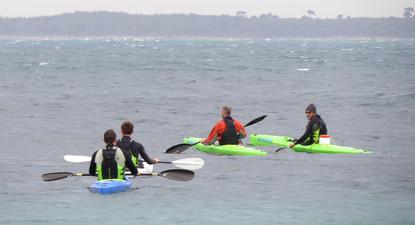 Randonnée et Découverte du Kayak à Juan-les-Pins autour du Cap d'Antibes