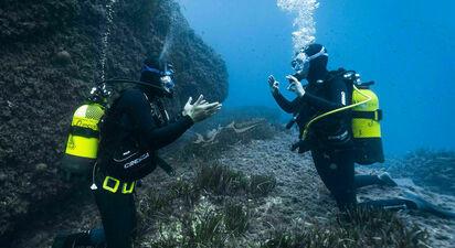 Baptême de plongée à Antibes