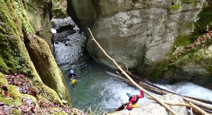 Canyoning Initiation & Sensation près d'Annecy