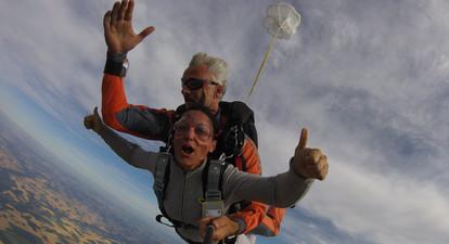 Saut en parachute près de Meaux