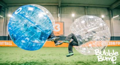 Partie de Bubble Bump à Frejus