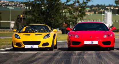 Pilotage Multivolants : Lotus Elise et Ferrari 360 - Circuit d'Andrézieux