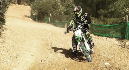 Initiation ou stage de pilotage sur motocross près d'Aix-en-Provence