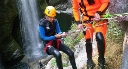 Canyoning aux Gorges de Langouette à proximité de Pontarlier